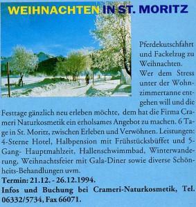 Weihnachten in St. Moritz